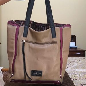 Nicole Miller awesome tote